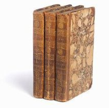 Anne Sharp's presentation copies of Emma, sent to her by Jane Austen. This image is used with permission from Bonham's.