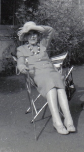 Jean Rhys in the 1970s (Creative Commons License)