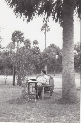 Photo by Alan Anderson, courtesy of the Marjorie Kinnan Rawlings Papers, Special and Area Studies Collections, George A. Smathers Libraries, University of Florida, Gainesville, Florida.