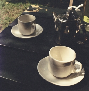 Tea for Two in the Orchard at Grantchester (Creative Commons License)