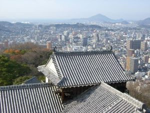 View from Matsuyama Castle (the town where I used to live) by Jyo81 (Creative Commons licence)