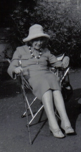 Jean Rhys in older age (1970s). Creative Commons licence