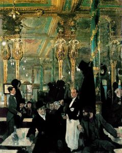 The Café Royal, London (William Orpen, 1912). Creative Commons License.