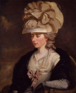 Frances Burney circa. 1784 painted by Edward Francisco Burney (1760-1848) [Public domain], via Wikimedia Commons