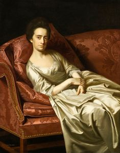 A painting of Hester Thrale in 1771 by John Singleton Copley [Public domain], via Wikimedia Commons