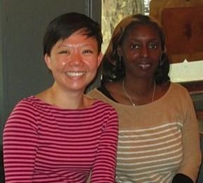 Yen Ooi (left) and Denise Saul (right)