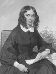 Elizabeth Barrett Browning - this image is in the public domain.