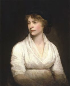 Portrait of Mary Wollstonecraft by John Opie. This image is in the public domain.