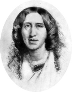 George Eliot - this image is in the public domain.