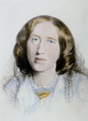George Eliot by Frederick William Burton - this image is in the public domain.